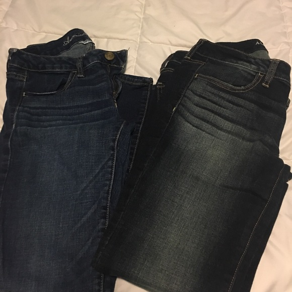 American Eagle Outfitters Denim - 2 pairs American eagle jeans size 6 skinny